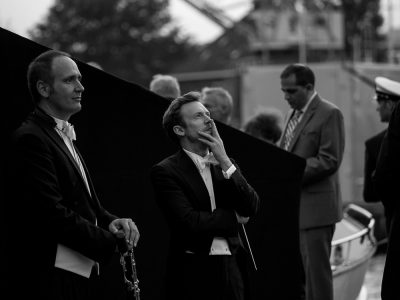 Daniel Harding en klarinettist Davide Lattuada