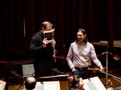 Daniele Gatti en Leonidas Kavakos